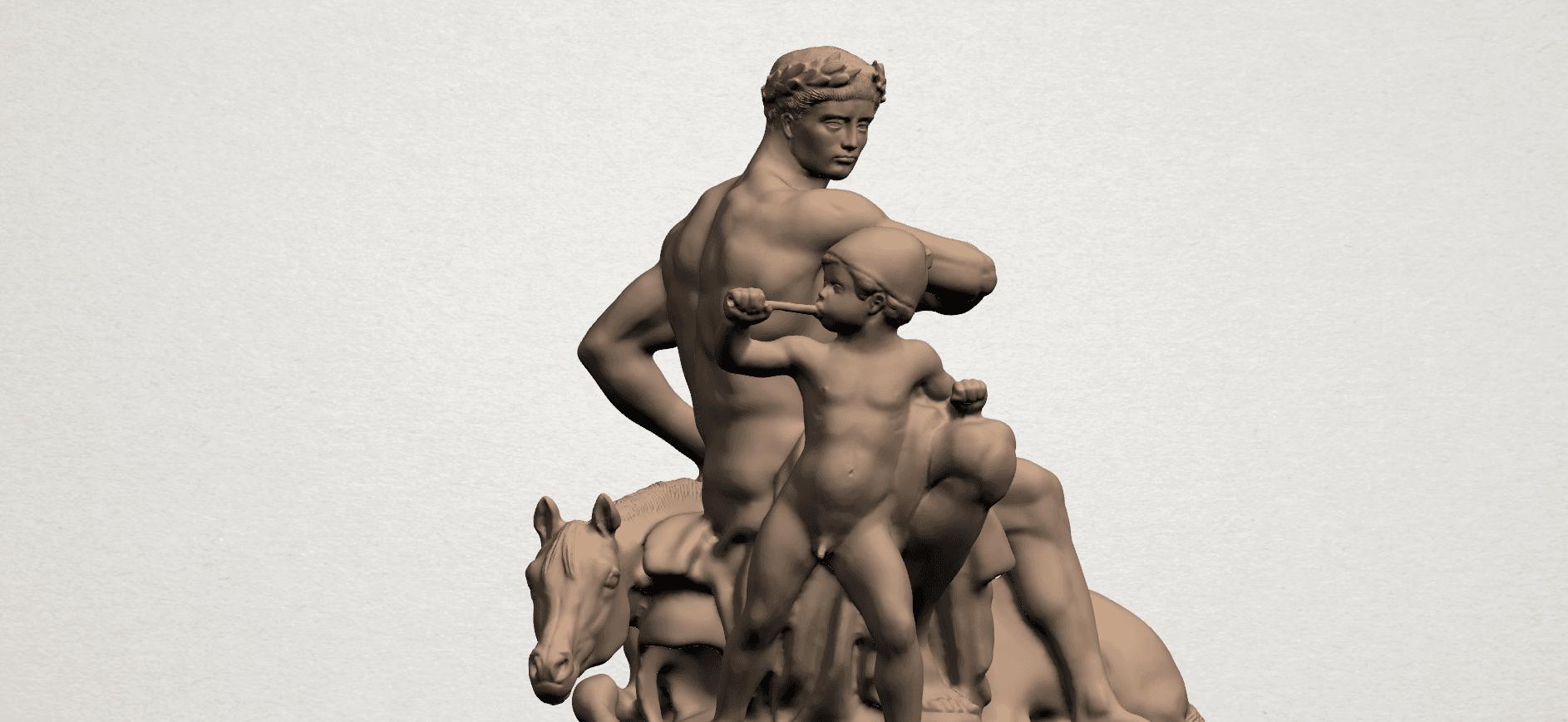Father and Son (ii) A07.png Télécharger fichier STL gratuit Père et Fils 02 • Plan à imprimer en 3D, GeorgesNikkei