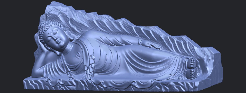 05_TDA0295_Sleeping_Buddha_iiiB02.png Télécharger fichier STL gratuit Bouddha Dormant 03 • Objet à imprimer en 3D, GeorgesNikkei