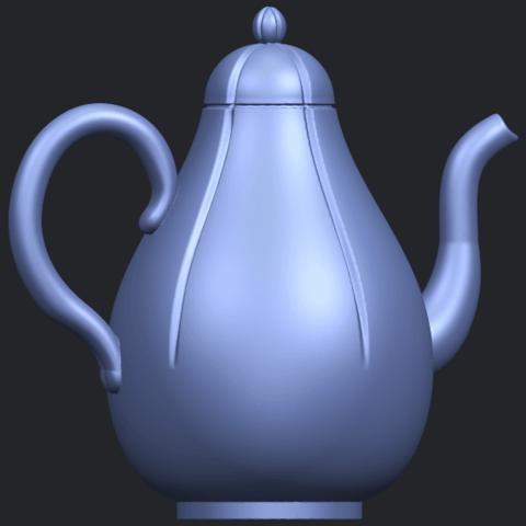 19_TDA0323_Tea_Pot_iiB06.png Download free STL file Tea Pot 02 • 3D printer template, GeorgesNikkei