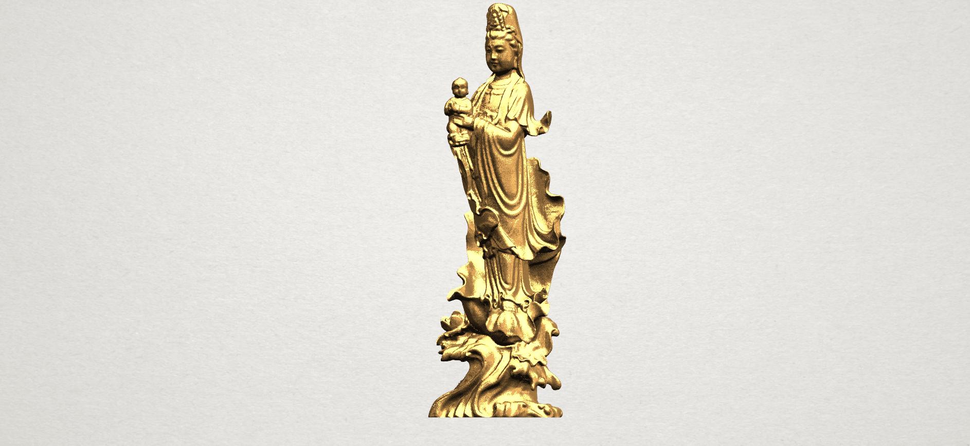Avalokitesvara Buddha  award kid (i) A02.png Download free STL file Avalokitesvara Bodhisattva - award kid 01 • 3D print object, GeorgesNikkei