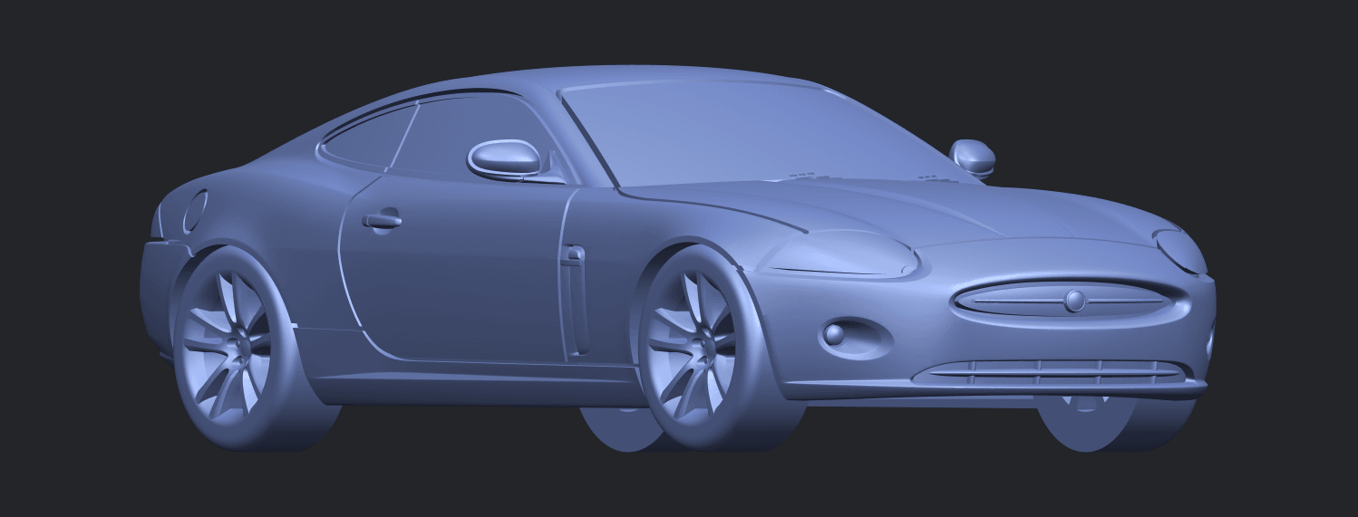 TDB003_1-50 ALLA08.png Download free STL file Jaguar X150 Coupe Cabriolet 2005 • 3D printing template, GeorgesNikkei