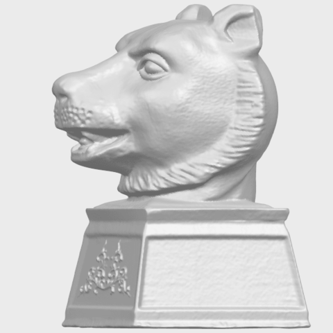 20_TDA0510_Chinese_Horoscope_of_Tiger_02A03.png Download free STL file Chinese Horoscope of Tiger 02 • 3D print object, GeorgesNikkei