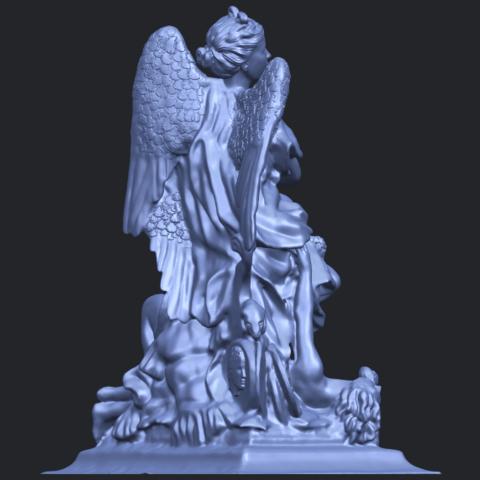 17_TDA0206_Angel_viB08.png Télécharger fichier STL gratuit Ange 06 • Modèle pour imprimante 3D, GeorgesNikkei