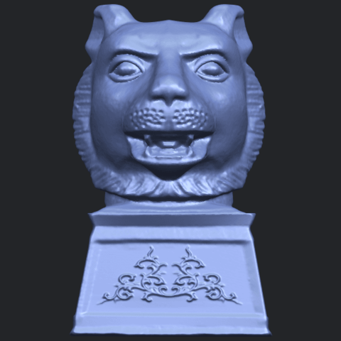 15_TDA0510_Chinese_Horoscope_of_Tiger_02B01.png Download free STL file Chinese Horoscope of Tiger 02 • 3D print object, GeorgesNikkei
