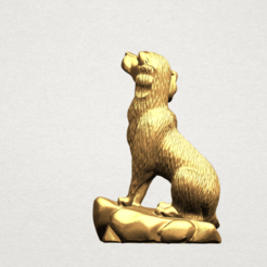 Download free 3D printer templates Chinese Horoscope 11 Dog, GeorgesNikkei