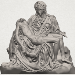 TDA0238 La Pieta A01.png Download free STL file La Pieta • Model to 3D print, GeorgesNikkei