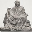TDA0238 La Pieta A01.png Télécharger fichier STL gratuit La Pieta • Modèle pour impression 3D, GeorgesNikkei