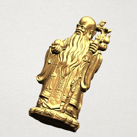 Sao (Fook Look Sao) 80mm - B08.png Download free STL file Sao (Fook Look Sao) • 3D printable model, GeorgesNikkei