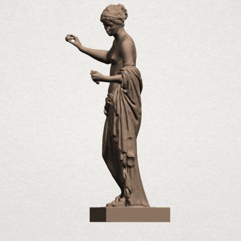 Naked Girl (xiv) A03.png Download free STL file Naked Girl 14 • 3D printer design, GeorgesNikkei