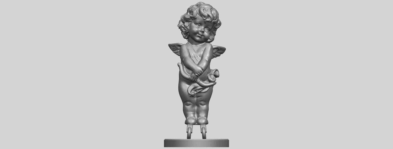 16_TDA0479_Angel_Baby_02A01.png Télécharger fichier STL gratuit Bébé Ange 02 • Plan pour imprimante 3D, GeorgesNikkei