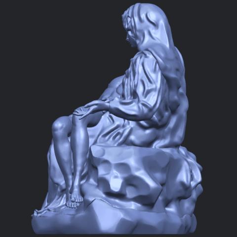 05_TDA0238_La_PietaB04.png Télécharger fichier STL gratuit La Pieta • Modèle pour impression 3D, GeorgesNikkei