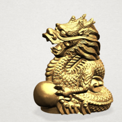 Download free STL file Chinese Horoscope 05 Dragon • Design to 3D print, GeorgesNikkei