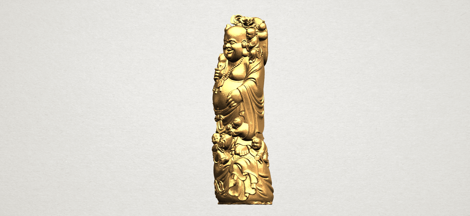 TDA0070 Metteyya Buddha 02 - 88mm - A02.png Download free STL file Metteyya Buddha 02 • 3D printer object, GeorgesNikkei
