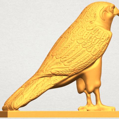 A06.png Télécharger fichier STL gratuit Aigle 04 • Design imprimable en 3D, GeorgesNikkei