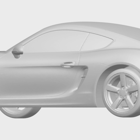 16_TDA0304_Porche_01_Length438mmA02.png Download free STL file Porche 01 • 3D printable object, GeorgesNikkei