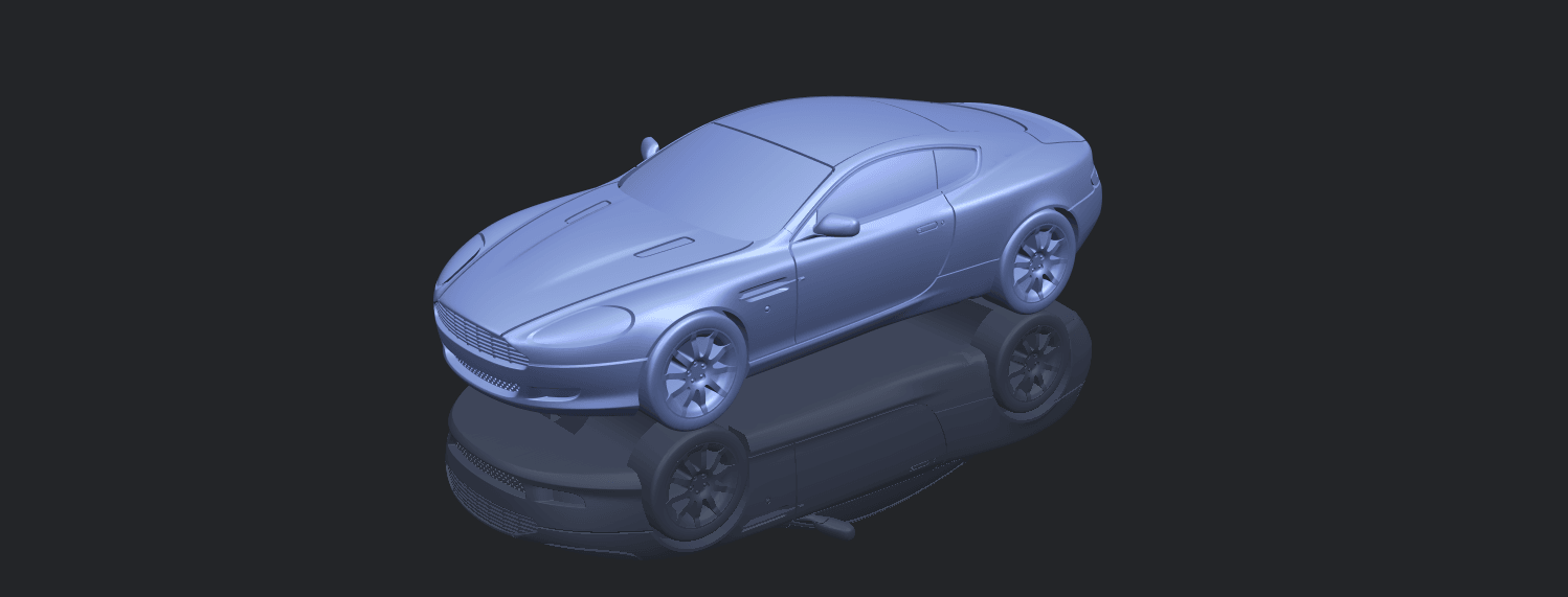 TDB006_1-50 ALLA00-1.png Download free STL file Aston Martin DB9 Coupe • 3D printer template, GeorgesNikkei