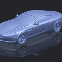 Aston Martin DB9 Coupe STL file, Miketon