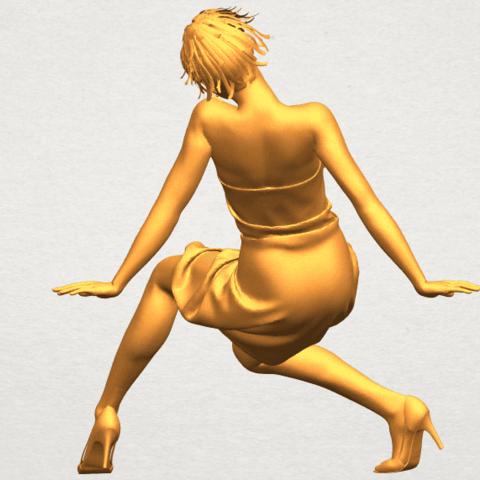 A06.png Télécharger fichier STL gratuit Fille nue G09 • Design pour impression 3D, GeorgesNikkei