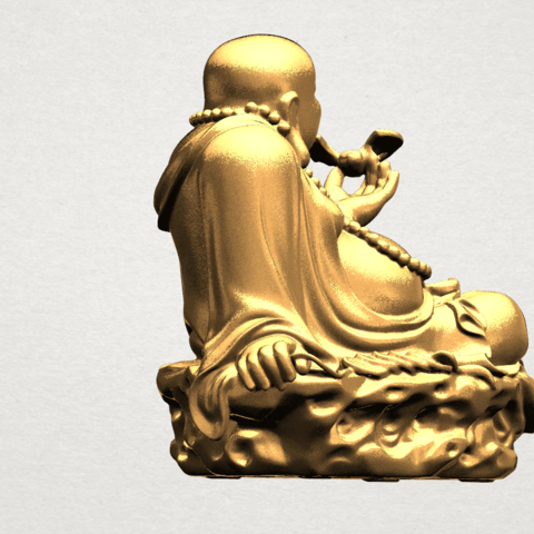 Metteyya Buddha 06 - A05.png Download free STL file Metteyya Buddha 06 • 3D print model, GeorgesNikkei