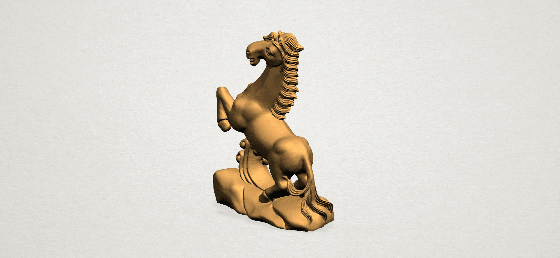 Chinese Horoscope07-A04.png Télécharger fichier STL gratuit Horoscope Chinois 07 Cheval Chinois • Design imprimable en 3D, GeorgesNikkei