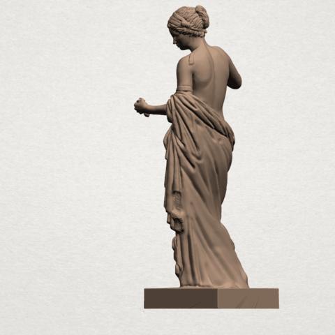 Naked Girl (xiv) A04.png Télécharger fichier STL gratuit Fille nue 14 • Plan pour imprimante 3D, GeorgesNikkei