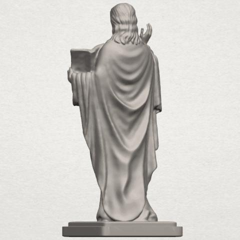 TDA0237 Jesus (v) A04.png Télécharger fichier STL gratuit Jésus 05 • Design imprimable en 3D, GeorgesNikkei