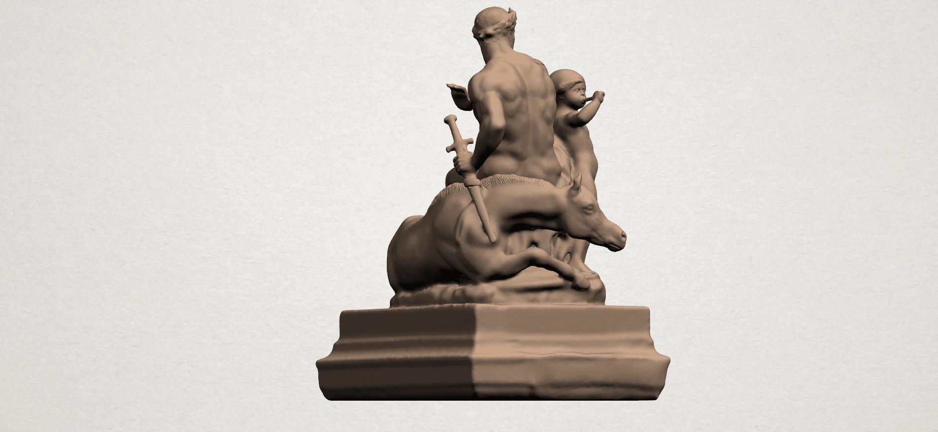 Father and Son (ii) A05.png Télécharger fichier STL gratuit Père et Fils 02 • Plan à imprimer en 3D, GeorgesNikkei