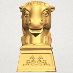 Free STL Chinese Horoscope of Horse 02, GeorgesNikkei