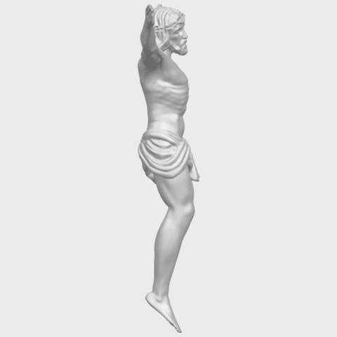 21_TDA0230_Jesus_iA09.png Download free STL file Jesus 01 - top • Object to 3D print, GeorgesNikkei