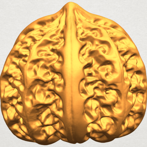 A06.png Download free STL file Walnut • 3D print object, GeorgesNikkei