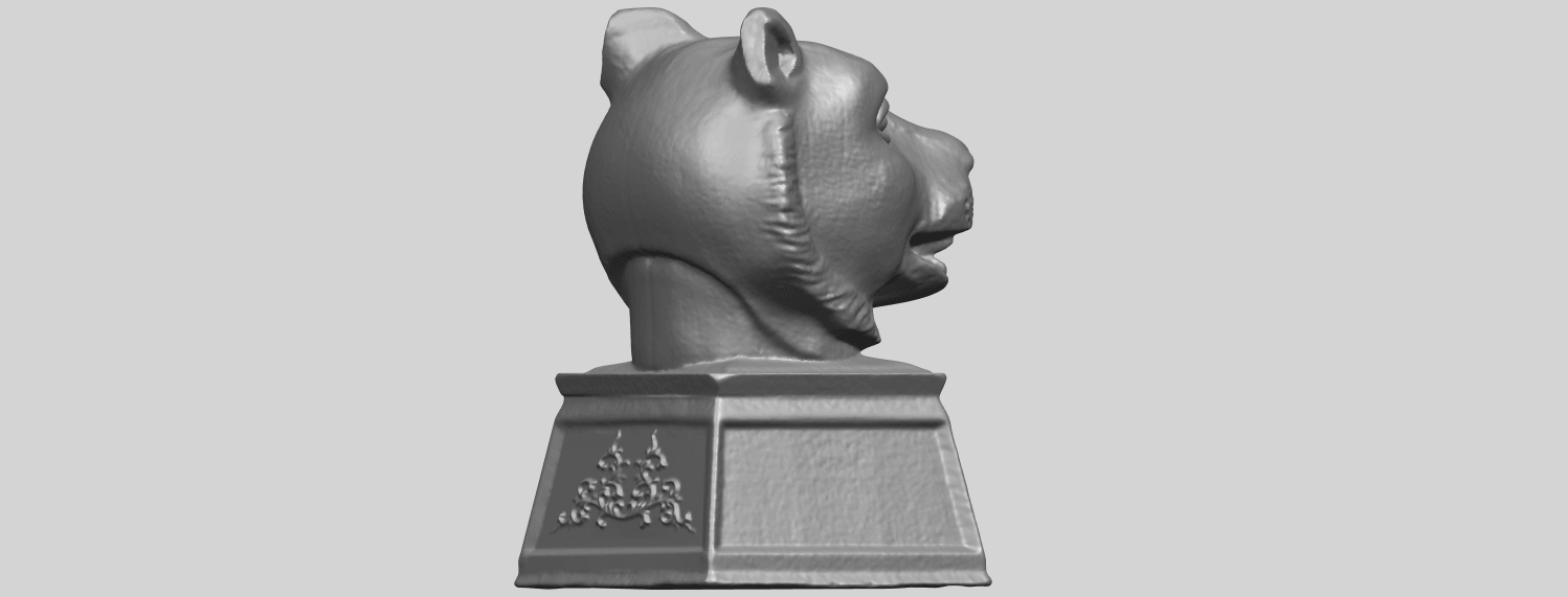 15_TDA0510_Chinese_Horoscope_of_Tiger_02A08.png Download free STL file Chinese Horoscope of Tiger 02 • 3D print object, GeorgesNikkei