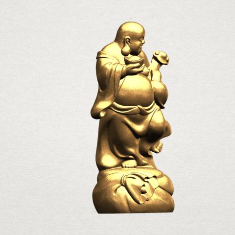 TDA0070 Metteyya Buddha 04 - 88mm - A07.png Download free STL file Metteyya Buddha 04 • 3D printable object, GeorgesNikkei