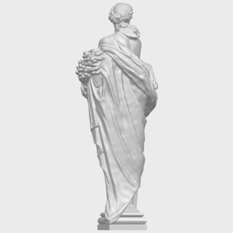 12_TDA0260_Sculpture_AutumnA06.png Download free STL file Sculpture - Autumn • 3D print template, GeorgesNikkei