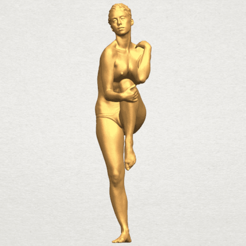 TDA0463 Naked Girl 17 A01.png Download free STL file Naked Girl 17 • Design to 3D print, GeorgesNikkei