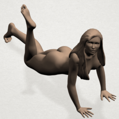 Free 3D printer files Naked Girl 12, GeorgesNikkei