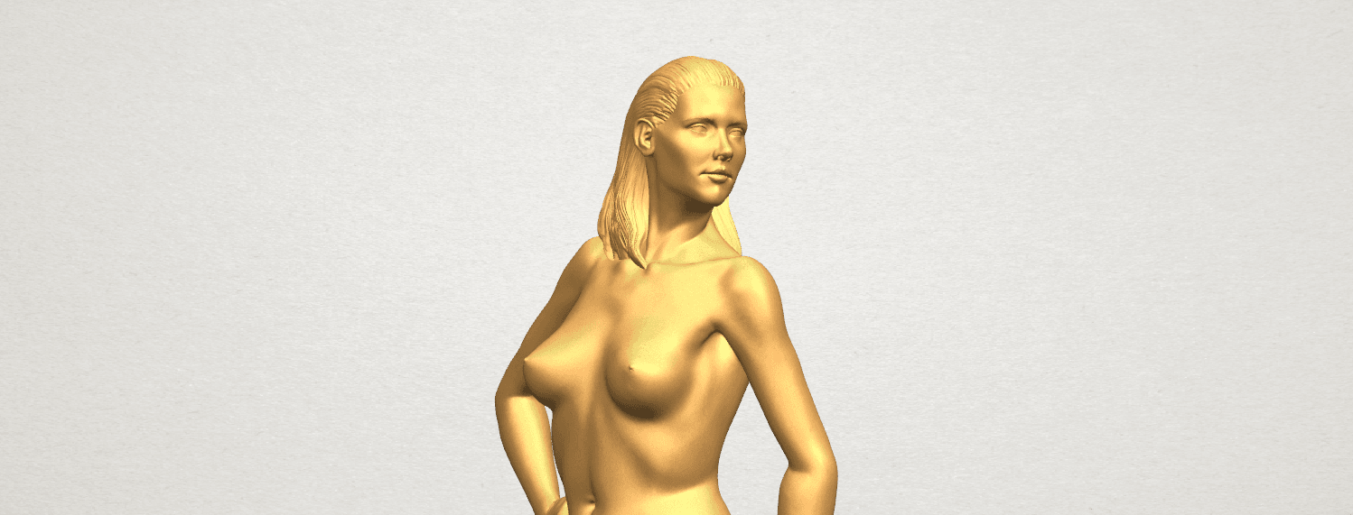 TDA0465 Naked Girl 19 A07.png Download free STL file Naked Girl 19 • 3D printer template, GeorgesNikkei