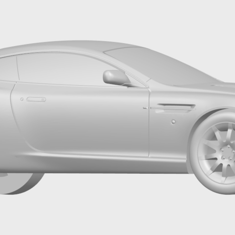 03_TDB006_1-50_ALLA07.png Download free STL file Aston Martin DB9 Coupe • 3D printer template, GeorgesNikkei