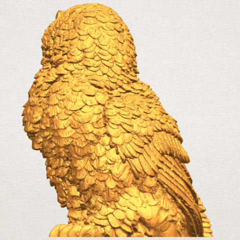 A06.png Download free STL file Owl 04 • 3D printable object, GeorgesNikkei