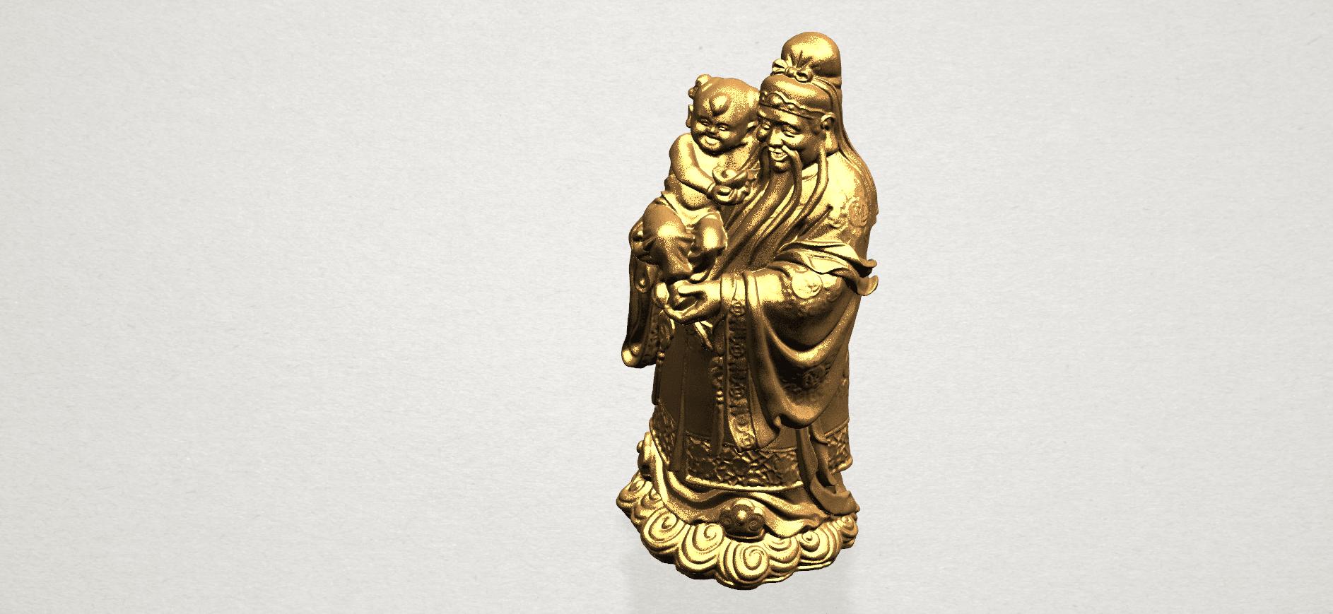 Fook (Fook Look Sao) 80mm - B07.png Download free STL file Fook (Fook Look Sao) • 3D printer template, GeorgesNikkei