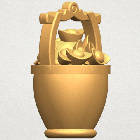 TDA0502 Gold in Bucket A04.png Download free STL file Gold in Bucket • 3D print object, GeorgesNikkei