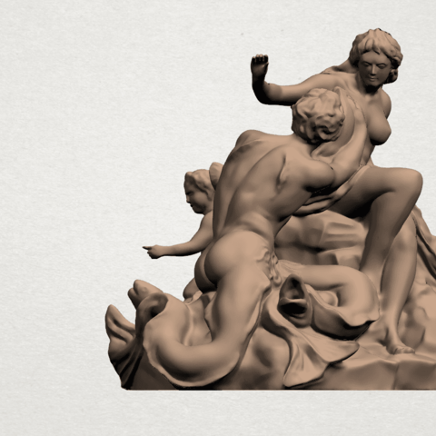 Naked Couple (vi) A07.png Download free STL file  Naked Couple 06 • 3D printing object, GeorgesNikkei