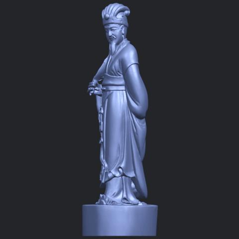 19_TDA0342_Zhu_Ge_Liang_Kong_MingB03.png Télécharger fichier STL gratuit Zhu Ge Liang Kong Ming Kong Ming • Modèle imprimable en 3D, GeorgesNikkei