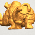 TDA0312 Rhinoceros (iv) Female A03.png Download free STL file  Rhinoceros 05 Female • 3D print object, GeorgesNikkei