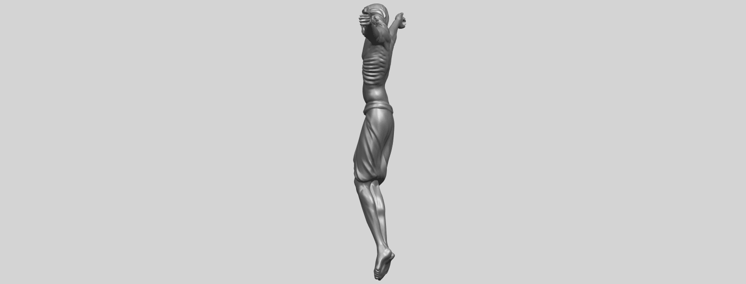 17_TDA0233_Jesus_iv_88mmA04.png Download free STL file Jesus 04 • Template to 3D print, GeorgesNikkei
