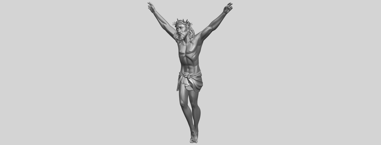 05_TDA0231_Jesus_(ii)_88mmA02.png Download free STL file Jesus 02 • 3D printing template, GeorgesNikkei