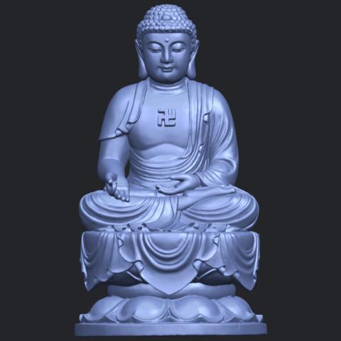01_TDA0174_Gautama_Buddha_(ii)__88mmB01.png Download free STL file Gautama Buddha 02 • 3D print template, GeorgesNikkei