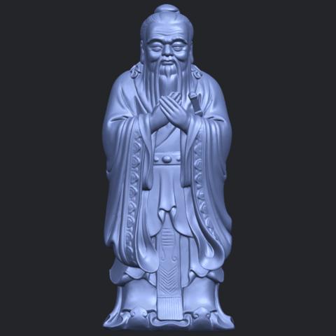 13_TDA0341_ConfuciusB01.png Download free STL file Confucius • 3D printable model, GeorgesNikkei