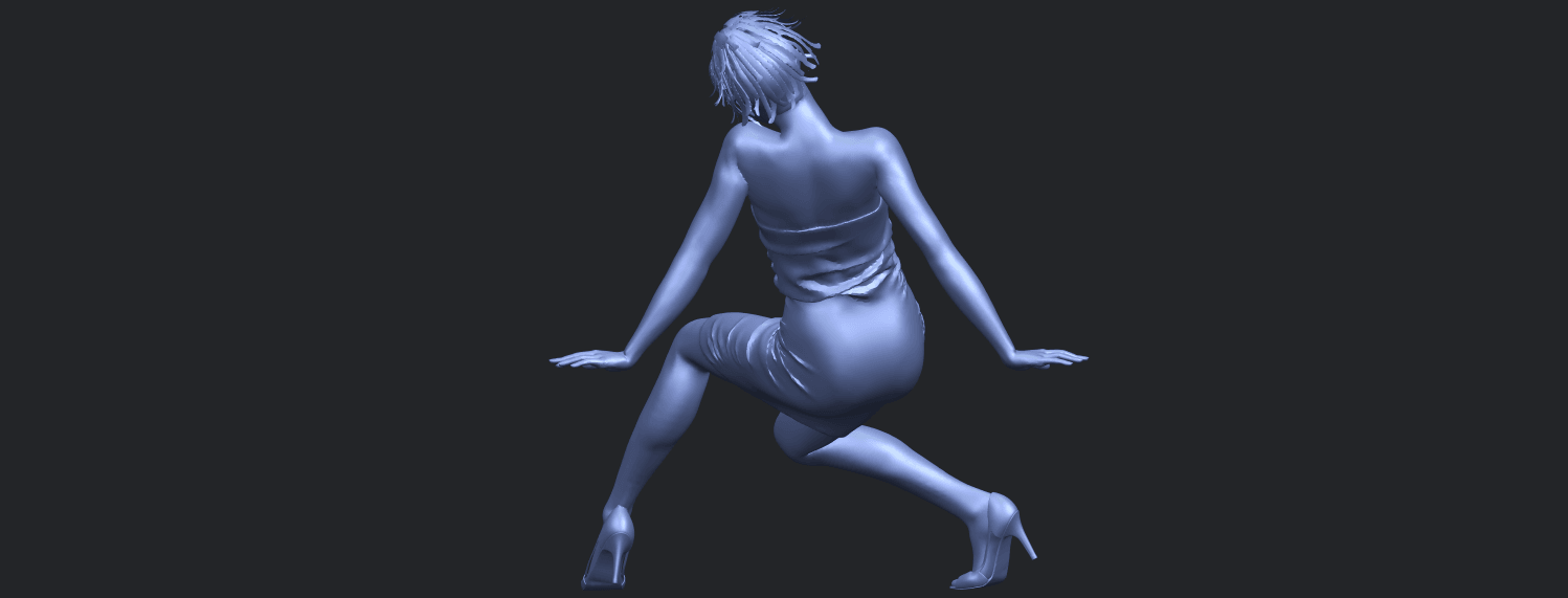 15_TDA0662_Naked_Girl_G10B06.png Download free STL file Naked Girl G10 • 3D printable template, GeorgesNikkei