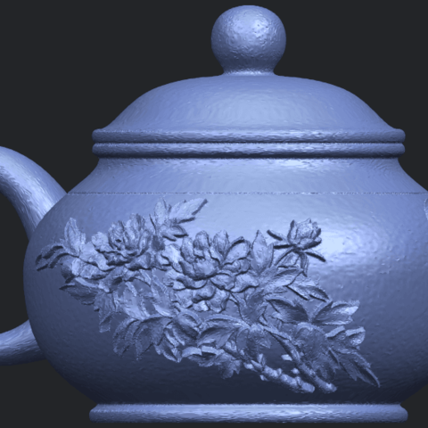 02_TDA0324_Tea_Pot_iiiB07.png Download free STL file Tea Pot 03 • 3D printing template, GeorgesNikkei