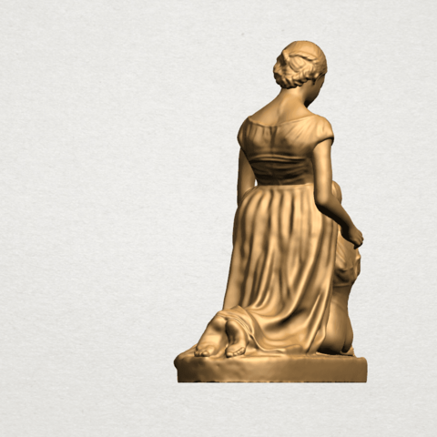 Mother-Child (ii) A04.png Download free STL file Mother and Child 02 • 3D printable design, GeorgesNikkei
